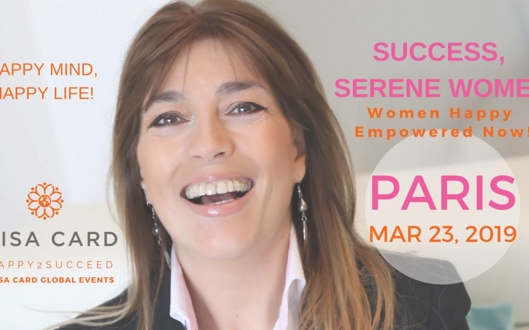ATELIER-COACHING: «SUCCES, FEMMES SEREINES»